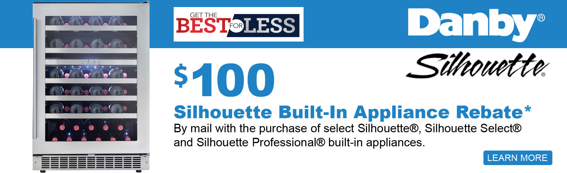 Save up to $100 with qualified purchase