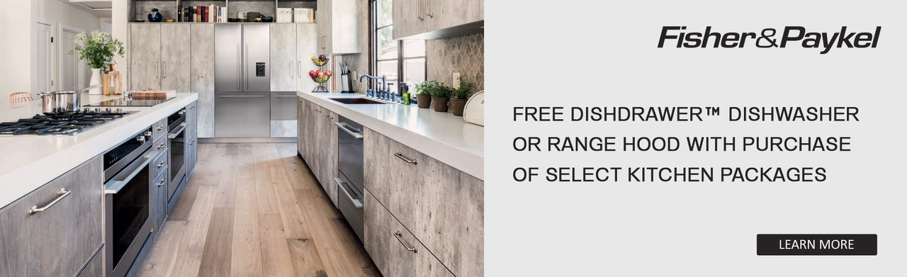 Free dishwasher with qualified purchase