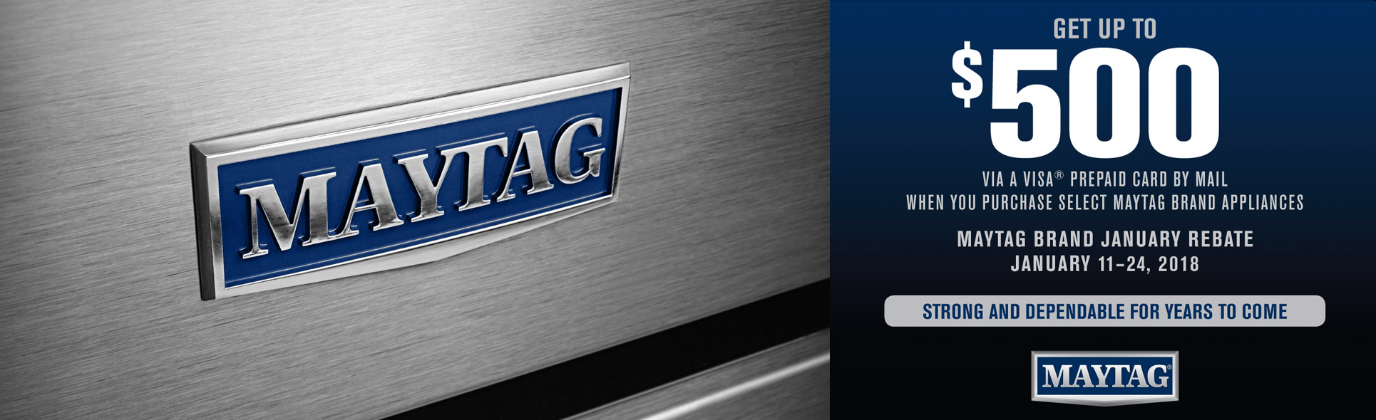 Maytag Package Savings up to $500