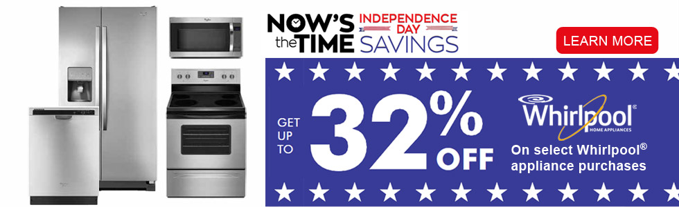 Whirlpool Independence Day Savings